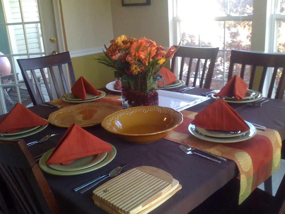 Fall Tablescape - Affordable Interior Designer