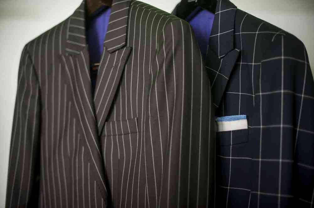Washington DC Custom Pinstripe Suit