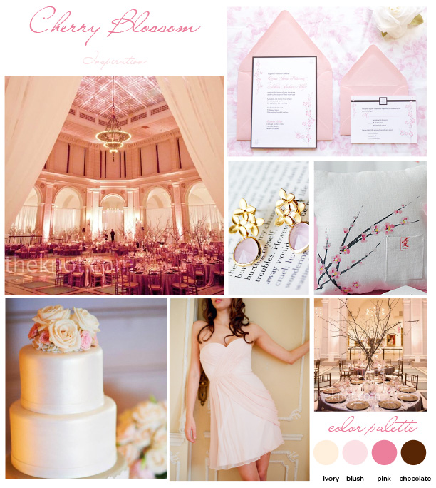 Cherry Blossom-Inspired Weddings