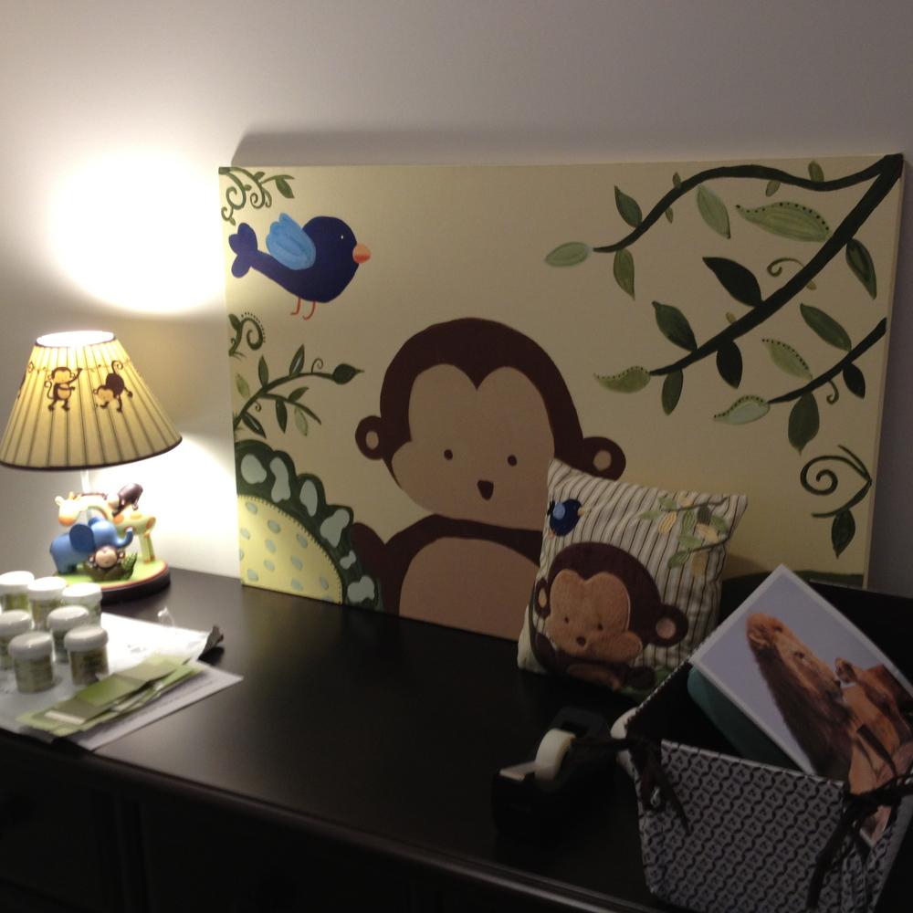 Nicole Heiner Monkey Painting