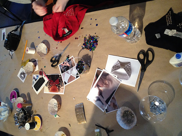 Fashion Event Craft Table