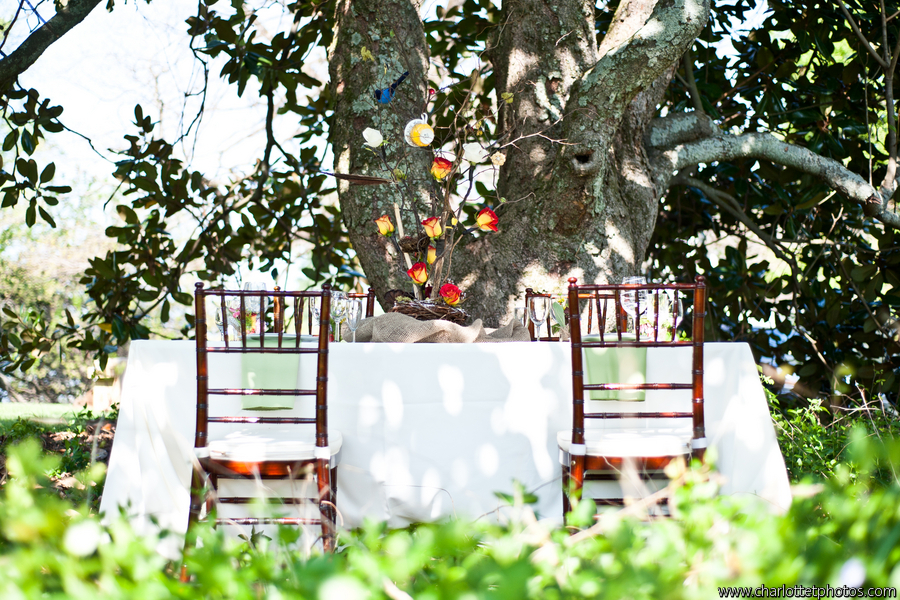Snow White inspired wedding table scape; Event styled by Washington DC event planner Darian and Dechele Events on Fortique