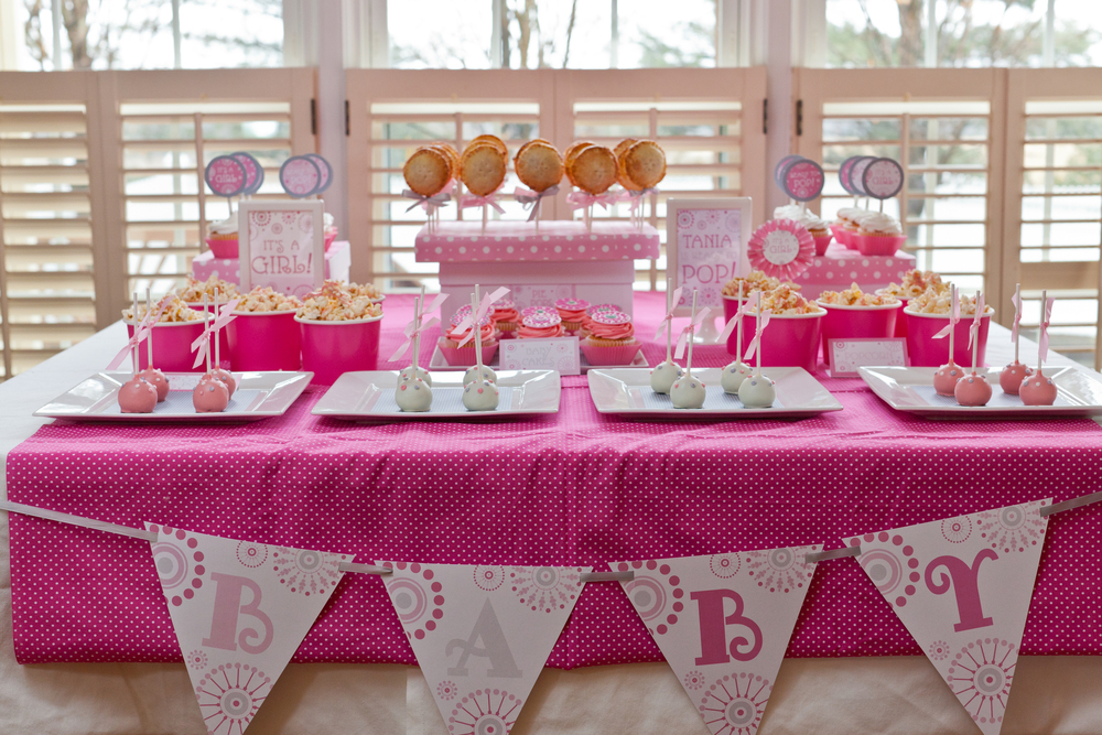 She's About to Pop Baby Shower Tablescape; Event styled by Washington DC event planner Petite Social on Fortique