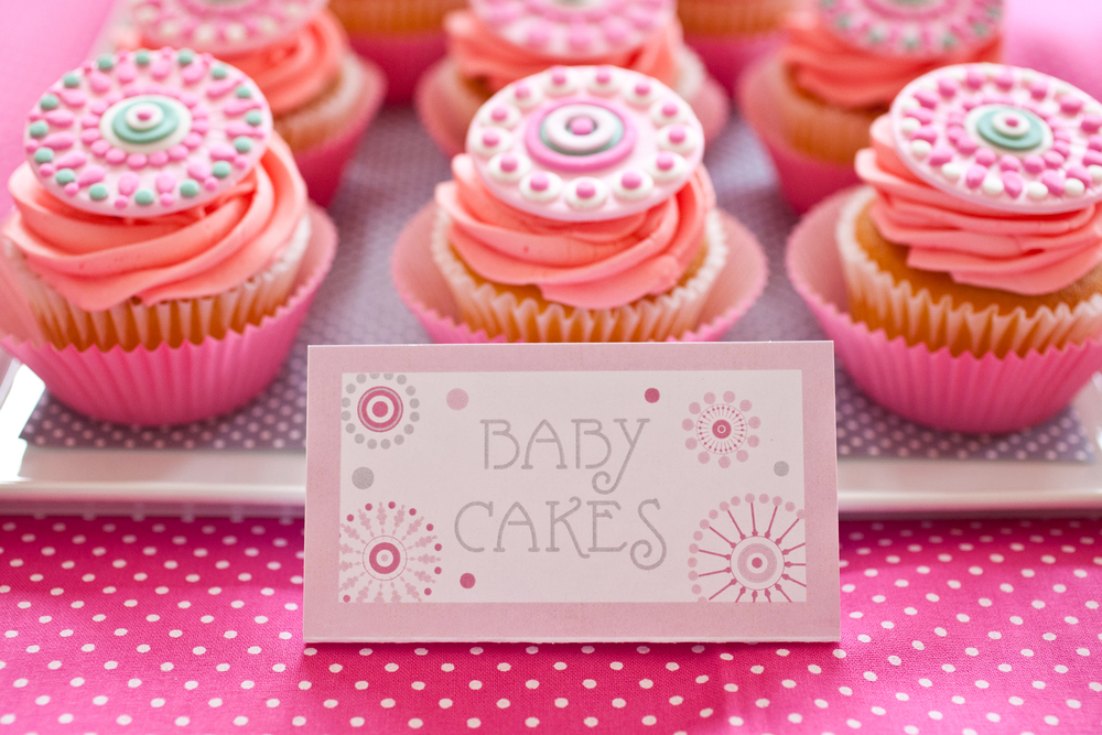 Baby Cakes; She's About to Pop Baby Shower; Event styled by Washington DC event planner Petite Social on Fortique