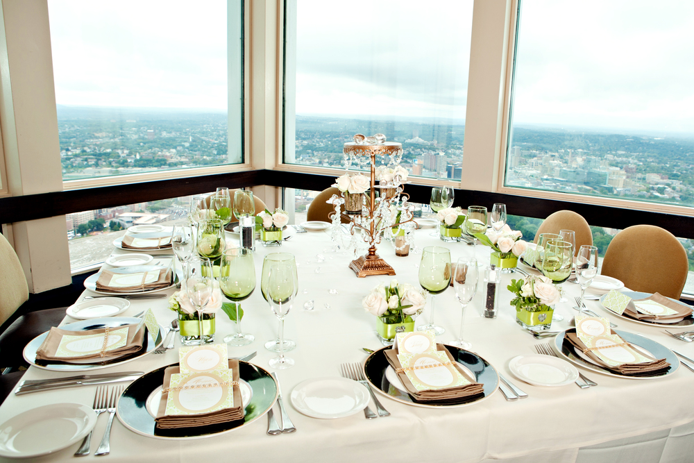 Jimmy Choo-inspired engagement brunch; Event styled by Washington DC event planner Petite Social on Fortique