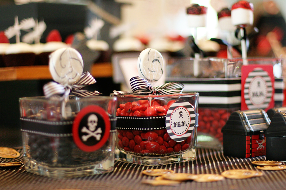 Pirate Birthday Party Dessert Bar - Washington DC Birthday Party Planner