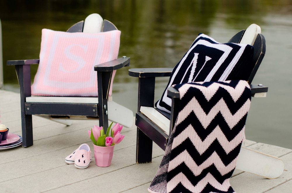 Pink and Blue Nautical Design - Photo Shoot Stylist