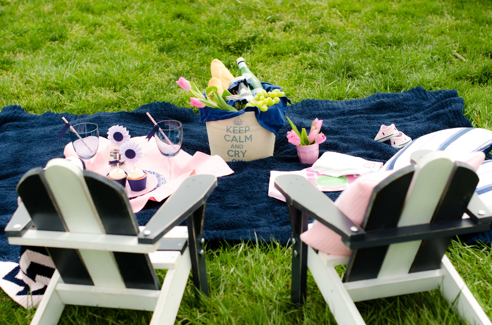 Keep Calm and Carry On Picnic - Photo Shoot Stylist