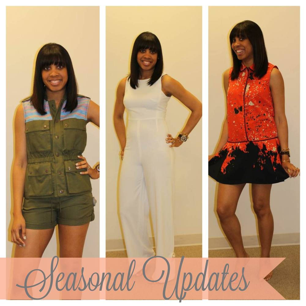 Washington DC Seasonal Updates Styling