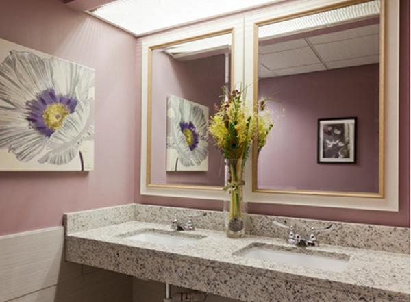 Purple Bathroom Design