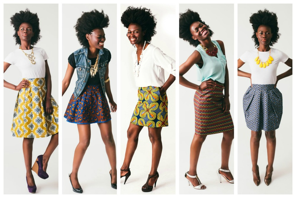5 casual skirt styles by top Washington DC stylist Naina Singla on Fortique