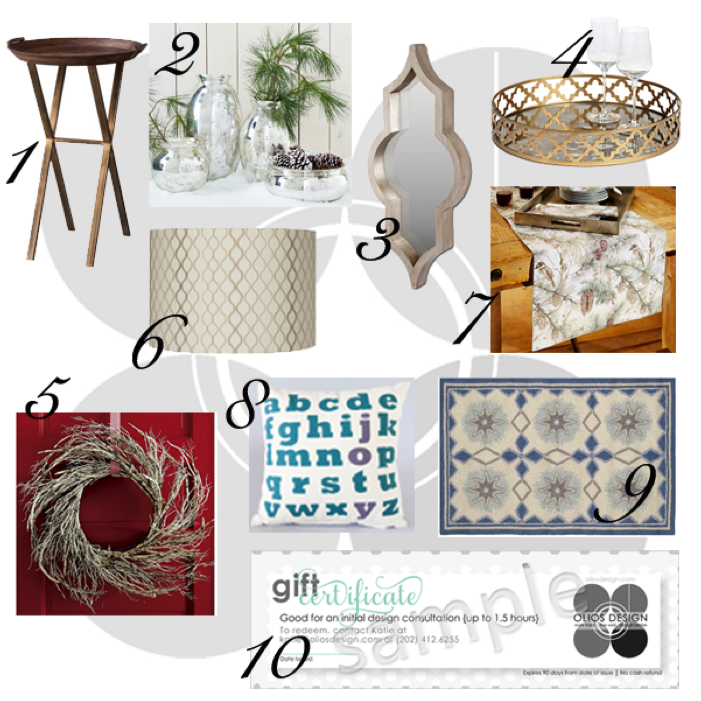 Olios Design Holiday Decor Guide