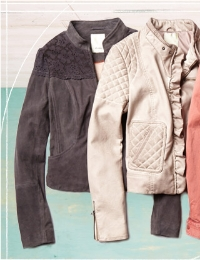 These jackets from Anthropologie are perfect for the transitional months.