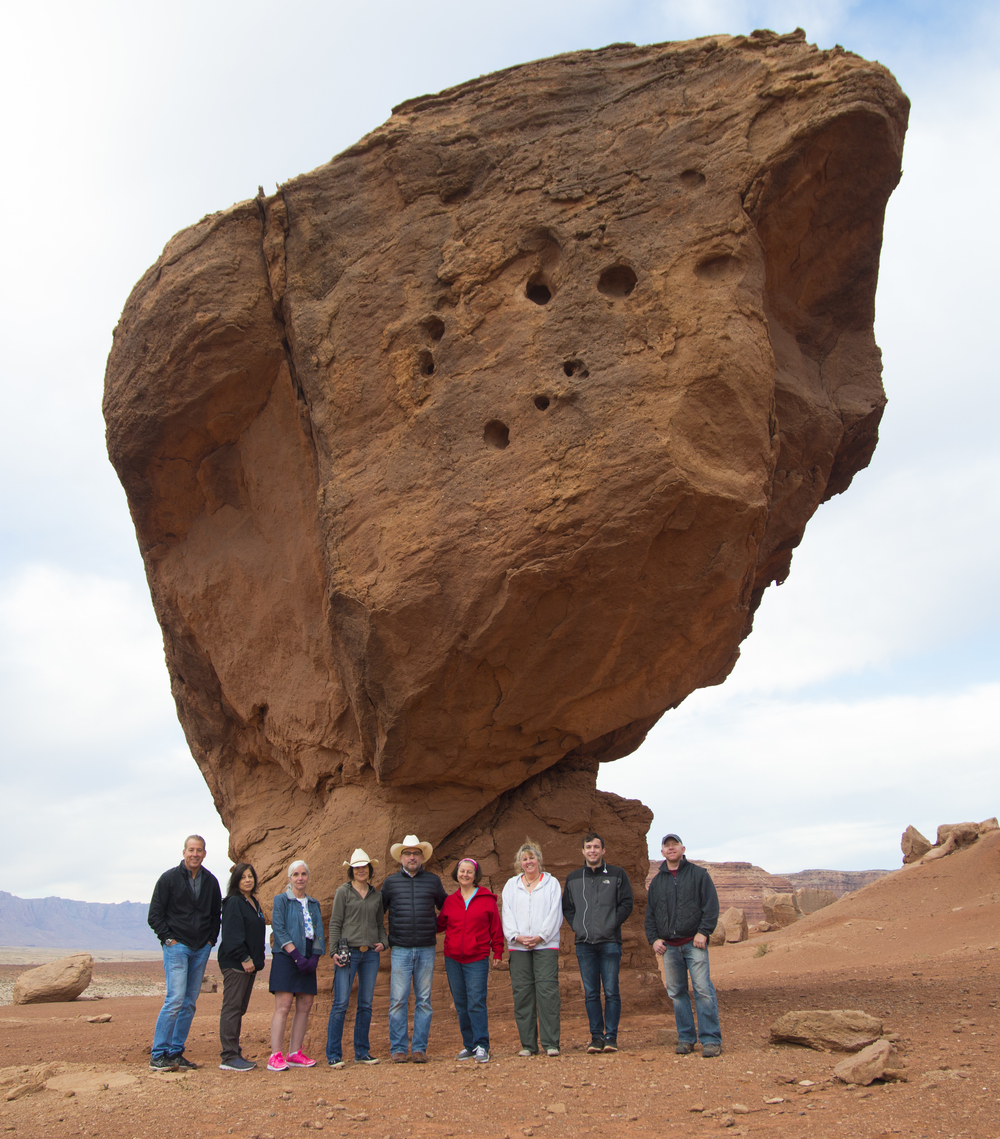 Group shot of our Southwest Scenic Workshop.