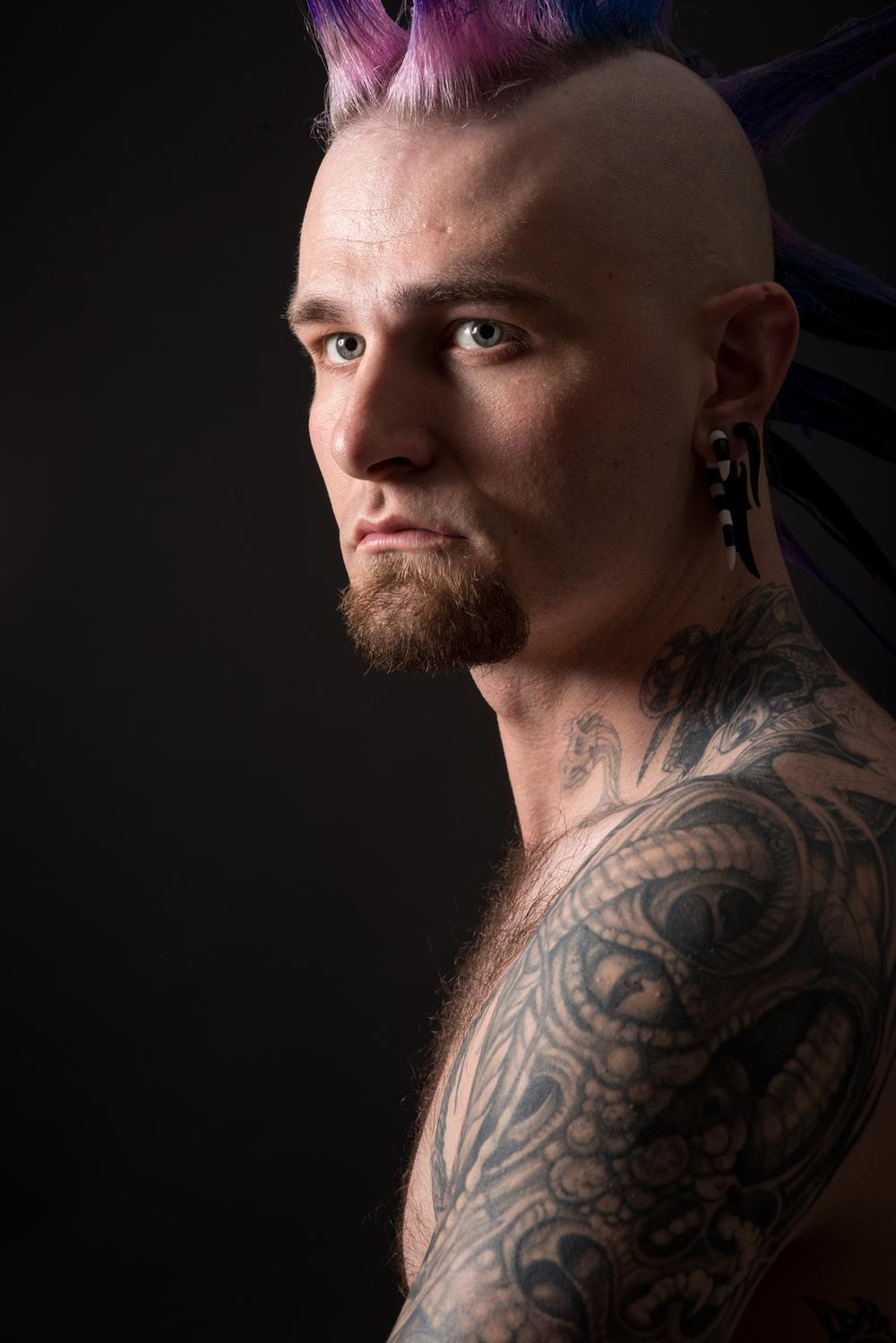 Michael Young, Portrait 1 Class