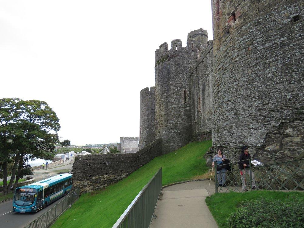 Into Conwy Castle - more photos follow post
