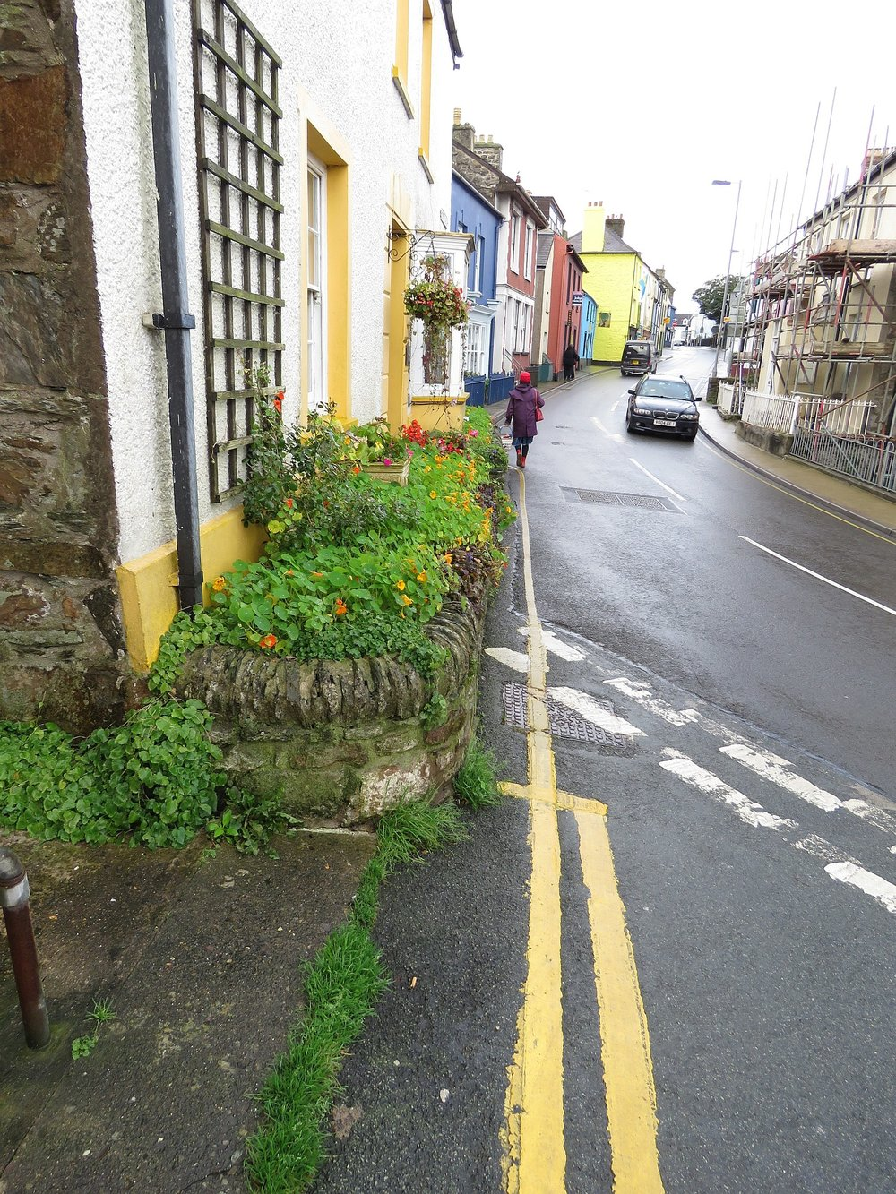 Down the road into Fishguard