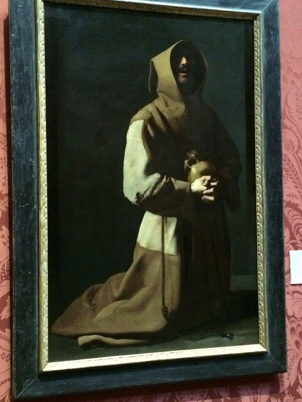 A favorite painter - Zurbran's St. Francis