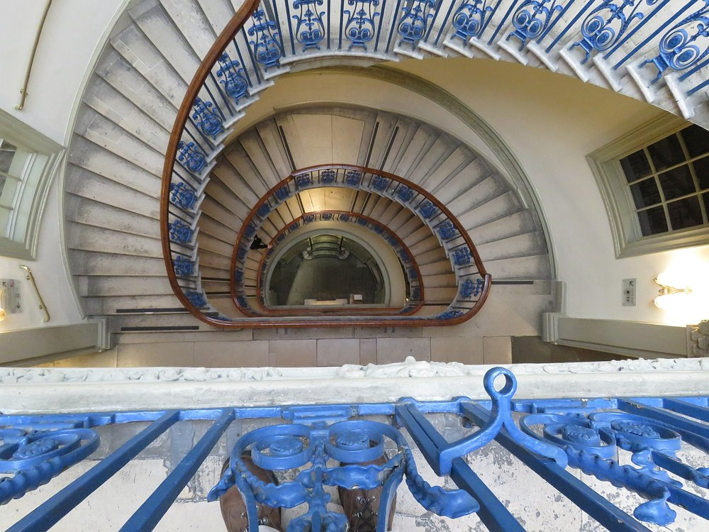 Somerset House staircase.