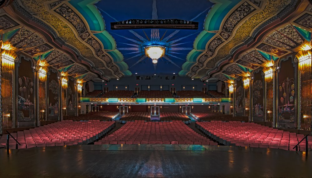 Paramount Theater from center stage