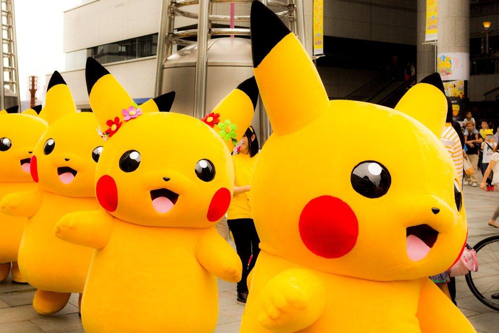 Pikachu parade in Yokohama (Yoshikazu Takada)