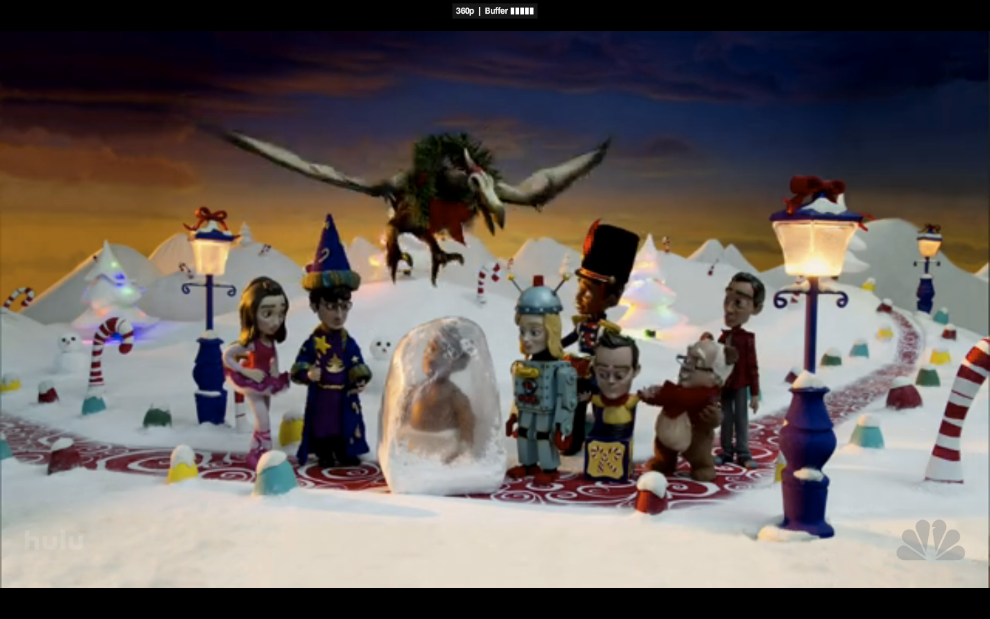"Screen Capture from ""Abed's Uncontrollable Christmas"""