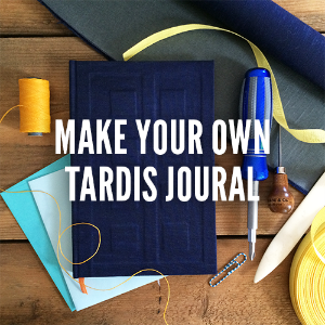 Make Your Own Tardis Journal Class Make your fanboy or fangirl proud by creating your own River Song TARDIS notebook. In this class, you will hand-stitch a multi-signature text block to be bound into a custom hardback journal with inlaid TARDIS design. Inspired by the fantastic Doctor Who, you'll want to keep this book for all time. $45