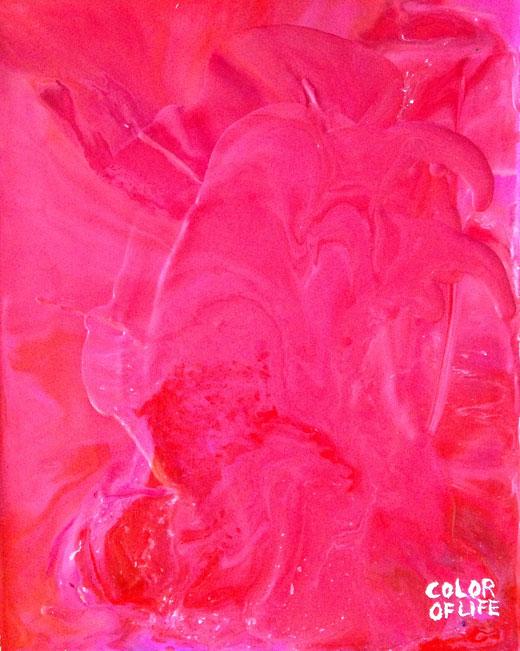Crayon Art Pink
