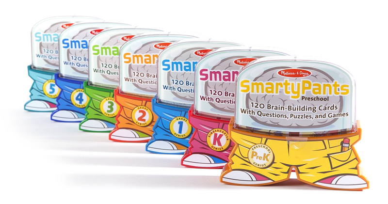 "I was the project editor for these SmartyPants learning cards, named ""Teachers' Pick 2013"" by Scholastic's Instructor Magazine."