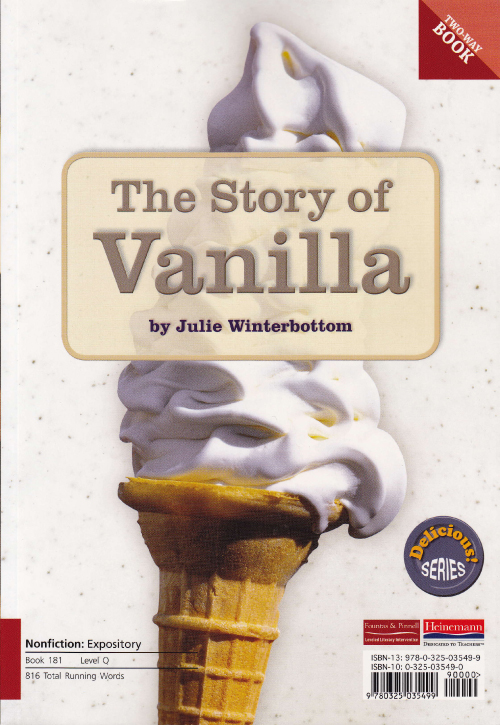 The Story of Vanilla/The Story of Chocolate