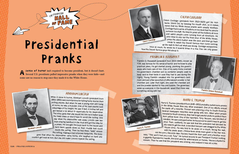 Presidential Pranks