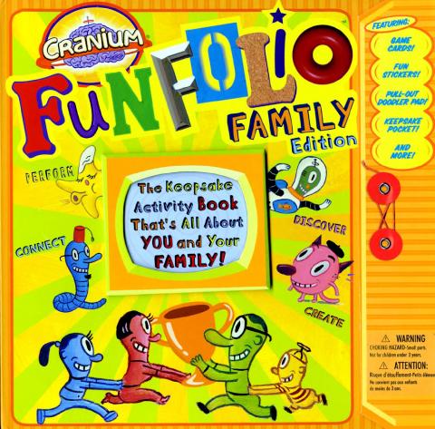 Cranium Fun Folio Family Edition