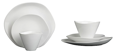 The organic form of this dinnerware is refreshing!  sc 1 st  Grassroots Modern & CB2 - I will give you my first born child! \u2014 Grassrootsmodern.com