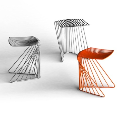 Wire furniture Modern Am Not Usually Too Big Of Fan Of Wire Furniture That Being Said Anonandco Is An Australian Based Design Group That Is Doing Some Fantastic Work With Life Interiors Anon And Co Dove Stool Grassrootsmoderncom