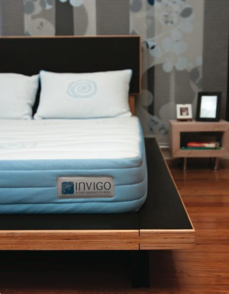 invigo platform bed mattress