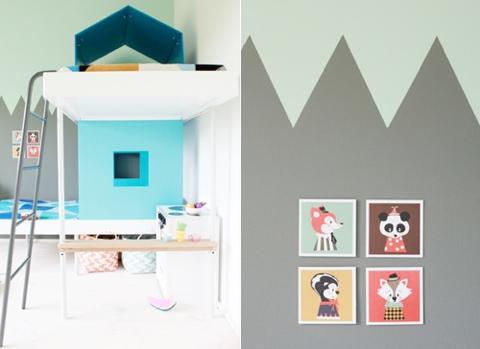 aalto + aalto modern bunk bed