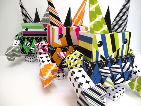 paper punk robot