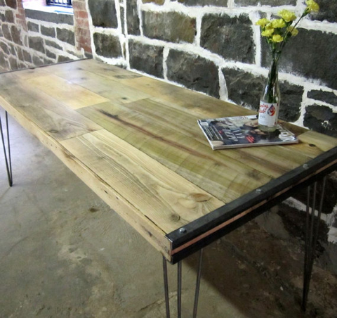 recycled brooklyn table