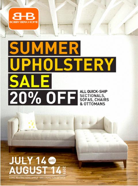 bobby berke upholstery sale
