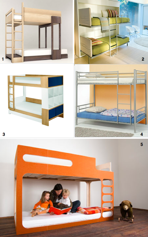 Awesome modern bunk beds