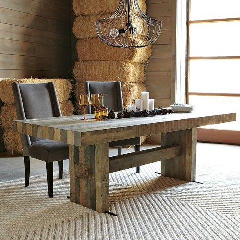 emmerson dinning table farm house modern