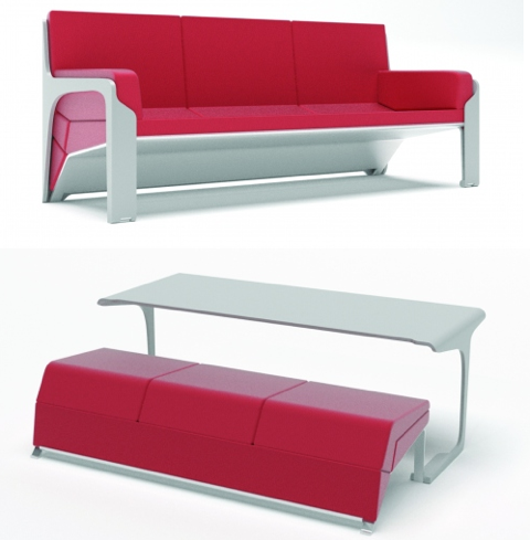 livdin sofa table