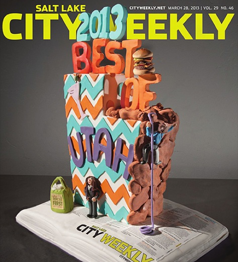 "I'm absolutely humbled (and elated) to have gotten a mention in City Weekly as part of their 2013 ""Best Of"". It seems somehow amongst all the amazing talent in Salt Lake City they . . .  READ MORE"