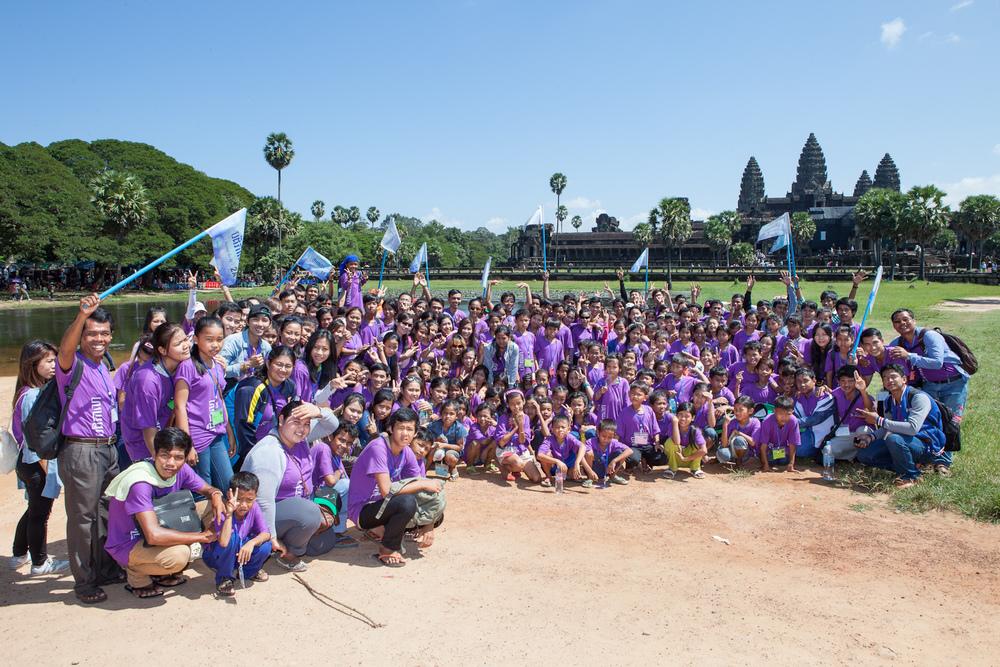 Alongsiders Camp 2014 at Angkor Wat