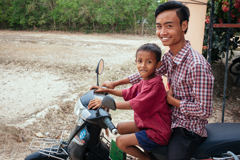 He was excited when Alongsiders came to his church and immediately went out and found this boy to be his little brother.