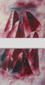 City Code  Diptych - 300x300 each  SOLD  Oil on canvas