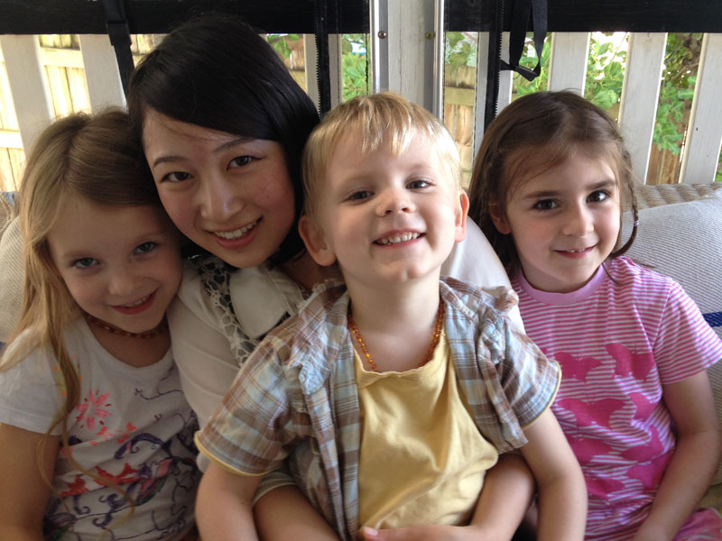 Natsuki - our latest homestay student!