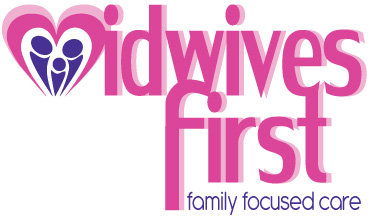 Midwives First - logo branding and print media design.