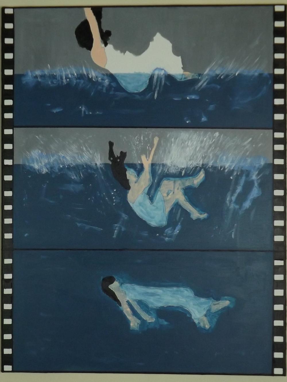 Esther     Acrylic on canvas (2013)