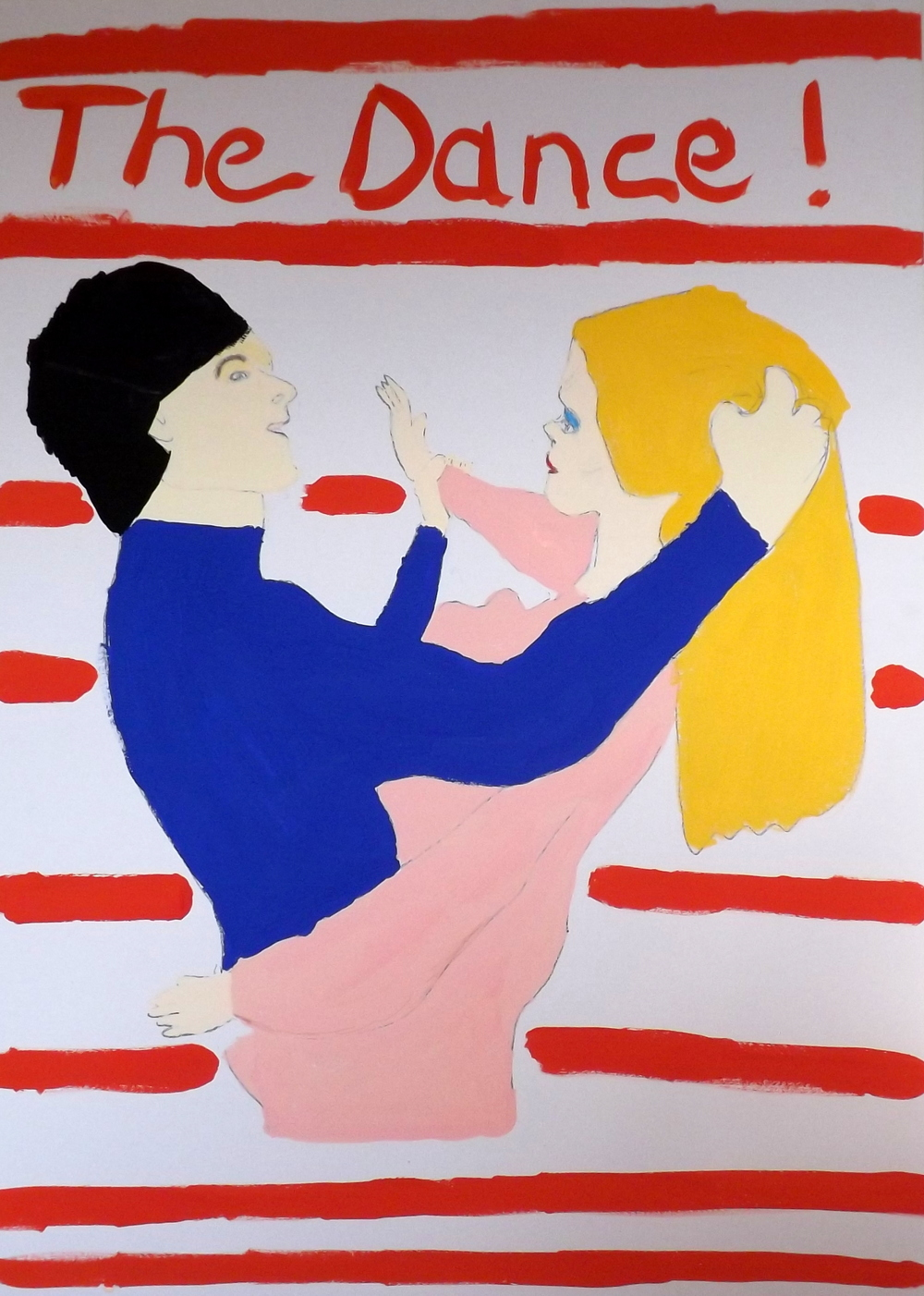 The Dance     Gouache on cardboard (2014)